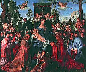 Албюрехт Дюрер. Мадонна четок. 1506