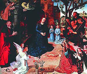 Хуго ван дер Гус. Поклонение волхвов. 1476-1479