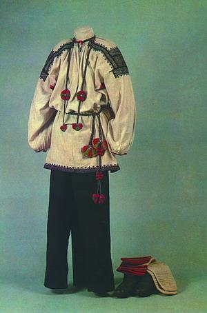 Рпите да? а вот вам русский народный костюм в канадском исполнении.