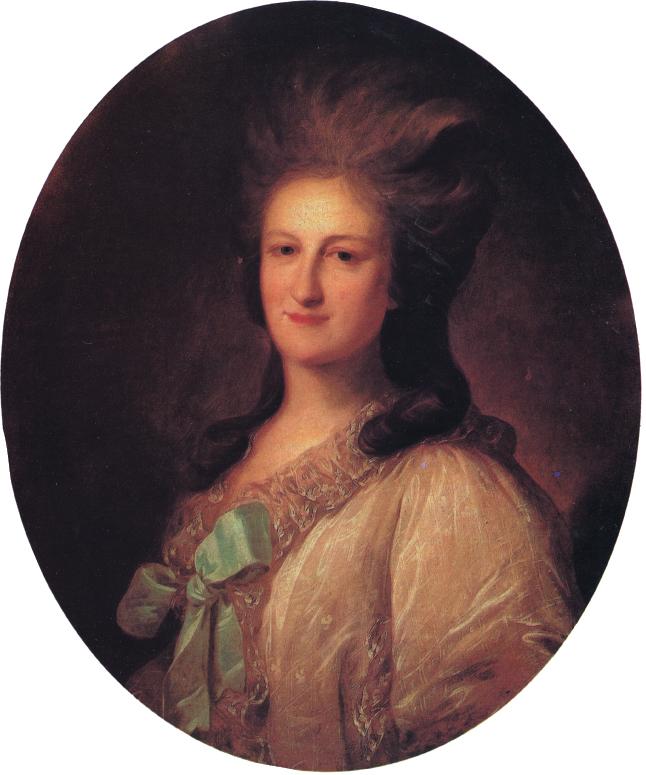 Портрет В.Е. Новосильцевой