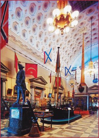 Экспозиция Центрального военно-морского музея. События.