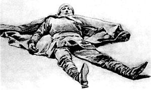 Павший витязь. 1879–1880. Государственная Третьяковская галерея, Москва