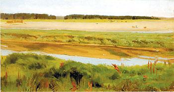 Река Вятка. 1878. Рязанский художественный музей