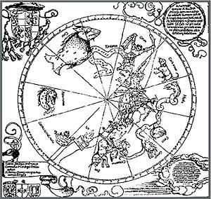 Карта альбрехта дюрера для южного