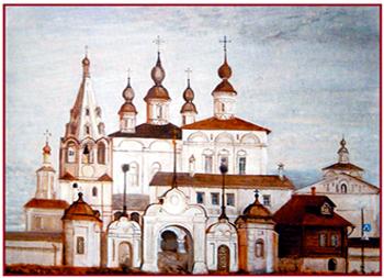 С. Веселов. Михайло-Архангельский монастырь в Великом Устюге. 2000