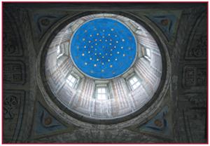 Купол Свято-Троицкого храма в Пскове