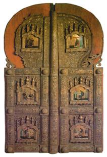 Царские врата Софийского собора в Вологде