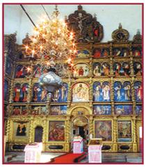 Иконостас Гледенского монастыря. Великий Устюг