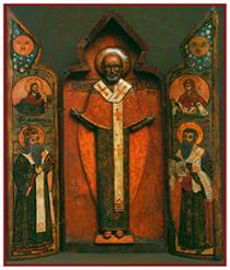 Деисусный чин Никольской церкви села Астафьева
