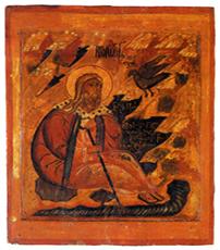 Илья пророк в пустыне. XVII в. Северные письма