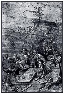 Корабль дураков. 1490. Лувр, Париж