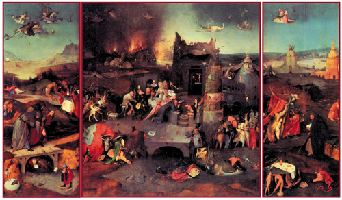 Искушение святого Антония. Ок. 1505. Национальный музей старого искусства, Лиссабон