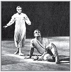 Сцена из балета «Каменный цветок» Катерина – И. Колпакова, Данила – И. Чернышев
