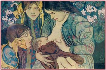 С. Выспаньский. Материнство. 1890-е