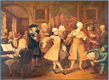 английская живопись 18 века