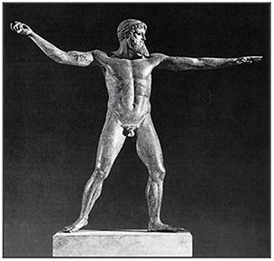 Зевс или посейдон с мыса артемисион